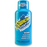 Sqwincher Steady Shot Flavored Energy Drinks - Berry Flavor - 2 fl oz - Bottle - 12 / Pack SQW200502BE
