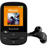 SanDisk Clip Sport 8 GB Flash MP3 Player - Black