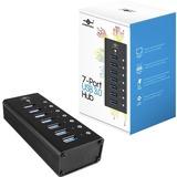 Vantec 7 Port USB 3.0 Aluminum Hub