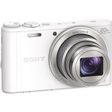 Sony Cyber-shot DSC-WX350 18.2 Megapixel Compact Camera - 4.3 mm - 86 mm - White