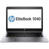 "HP EliteBook Folio 1040 G1 14"" Touchscreen Ultrabook - Intel Core i7 i7-4650U Dual-core (2 Core) 1.70 GHz - Silver"