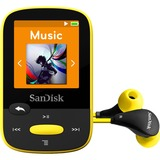 SanDisk Clip Sport 8 GB Flash MP3 Player - Yellow