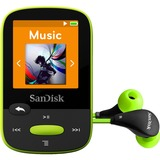 SanDisk Clip Sport 8 GB Flash MP3 Player - Lime