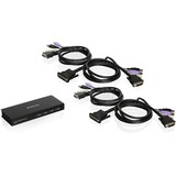IOGEAR 4-Port USB DVI KVM Switch