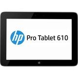 "HP Pro Tablet 610 G1 32 GB Net-tablet PC - 10.1"" - Wireless LAN - Intel Atom Z3775 1.46 GHz - Graphite - 2 GB RAM - Windows 8.1 Pro 32-bit (English) - Slate - 1920 x 1200 Multi-touch Screen Display - Bluetooth"