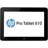 "HP Pro Tablet 610 G1 64 GB Net-tablet PC - 10.1"" - Wireless LAN - Intel Atom Z3795 1.59 GHz - Graphite - 4 GB RAM - Windows 8.1 Pro 64-bit - Slate - 1920 x 1200 Multi-touch Screen Display - Bluetooth"