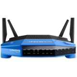 Linksys WRT1900AC IEEE 802.11ac Ethernet Wireless Router - 2.40 GHz ISM Band - 5 GHz UNII Band - 4 x LNKWRT1900AC