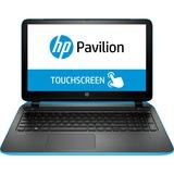 "HP Pavilion 15-p000 15-p020ca 15.6"" Touchscreen LED Notebook - AMD A-Series A4-6210 Quad-core (4 Core) 1.80 GHz - Aqua Blue, Ash Silver"