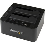 StarTech.com eSATA / USB 3.0 Hard Drive Duplicator Dock - Standalone HDD Cloner with SATA 6Gbps for fast-speed duplication