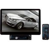 "Pyle PLSD131BT Car DVD Player - 13.1"" Touchscreen LCD - 16:9 - Single DIN - Video CD, DVD Video, MPEG-4, DivX - AM, FM - Secure Digital (SD), MultiMediaCard (MMC) - Bluetooth - Auxiliary Input - 1 x USB - 1024 x 600 - iPod/iPhone Compatible - In-dash"