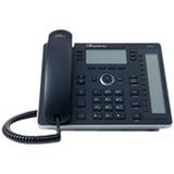 AudioCodes 440HD IP Phone - Corded - Black - 6 x Total Line - VoIP - Caller ID - Speakerph