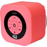Adesso Xtream Xtream S1P Speaker System - Wireless Speaker(s) - Battery Rechargeable - Wall Mountable - Pink