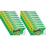 "Bounty Everyday Napkins - 1 Ply - 12"" x 12.10"" - White - Soft, Strong, Absorbent, Quilted - For Face PGC34884CT"