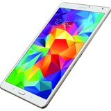 "Samsung Galaxy Tab S SM-T700 16 GB Tablet - 8.4"" - Wireless LAN - Samsung Exynos 5 Quad-core (4 Core) 1.90 GHz - Dazzling White"