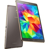 "Samsung Galaxy Tab S SM-T700 16 GB Tablet - 8.4"" - Wireless LAN - Samsung Exynos 5 Quad-core (4 Core) 1.90 GHz - Titanium Bronze"