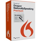Nuance Dragon NaturallySpeaking v.13.0 Premium Wireless Edition With Bluetooth Headset - 1 User