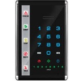 UTC Fire & Security Slimline Voice LED Keypad with Touch Buttons - Black/Vertical