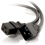 C2G 3ft 14AWG 250 Volt Power Extension Cord (IEC320 C20 to IEC320 C19)
