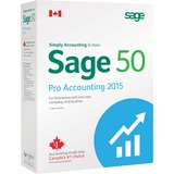 Sage 50 Pro Accounting 2015 Canadian Edition - 1 User
