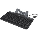 Belkin Wired Tablet Keyboard With Stand for Tablets with Micro-USB Connector