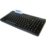 ID TECH Versakey Compact POS Keyboard with MagStripe Reader