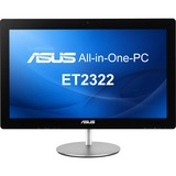 Asus ET2322INTH-05 All-in-One Computer - Intel Core i7 i7-4500U 1.80 GHz - Desktop - Black
