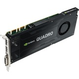 PNY Quadro K4200 Graphic Card - 4 GB GDDR5 - PCI Express 2.0 x16 - Full-height - Single Slot Space Required