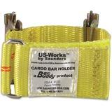 Saunders Cargo Bar Holder - 10000 lb Load Capacity - Yellow - Polyester SAU61222
