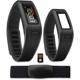 GINVIVOBLACKB - Garmin Int. Vivofit Fitness Band Bundle