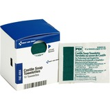 First Aid Only Castile Soap Towelettes - Fresh - White - Individually Wrapped - 10 Sheets Per Box -  FAOFAE4004