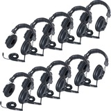 Califone Switchable Stereo/Mono Headphones - Stereo - Black - Mini-phone - Wired - 36 Ohm - Over-the CII3068AV10L