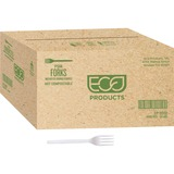 """Eco-Products 7"""" Plant Starch Cutlery - 1 Piece(s) - 1000/Carton - Plant Starch - Beige ECOEPS002CT"""