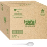 """Eco-Products 7"""" Plant Starch Cutlery - 1 Piece(s) - 1000/Carton - Plant Starch - Beige ECOEPS003CT"""