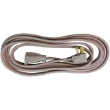 Compucessory Heavy Duty Indoor Extension Cord - 125 V AC Voltage Rating - 15 A Current Rating - Beig CCS25147