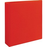 """Avery® Heavy-Duty View Binder w/Locking 1-Touch EZD Rings, 2"""" Cap, Red AVE79225"""