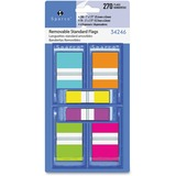 "Sparco Assorted Pop-Up Flags Combo Pack - 0.50"", 1"" - Assorted - Self-adhesive, Repositionable, Remo SPR34246"
