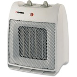 Lorell Adjustable Thermostat Ceramic Heater - Ceramic - 900 W to 1.50 kW - White LLR33986