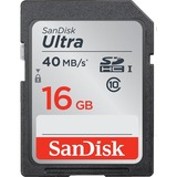 SanDisk Ultra 16 GB SDHC