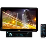 "PylePro PLD101BT Car DVD Player - 10.1"" Touchscreen LCD - 16:9 - MPEG-4, DivX, Video CD, DVD Video - AM, FM - Secure Digital (SD), MultiMediaCard (MMC) - Bluetooth - Auxiliary Input1024 x 600 - iPod/iPhone Compatible - In-dash"
