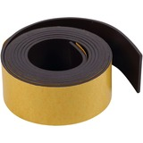 """BVCFM2020 - MasterVision 1""""x4' Adhesive Magnetic Tape"""