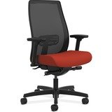 HON® Endorse Mesh Mid-Back Work Chair, Poppy/Black HONLWIM2ACU42
