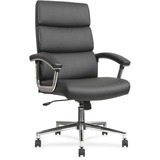 Lorell Leather High-back Chair