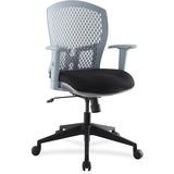 Lorell Plastic Back Flex Chair