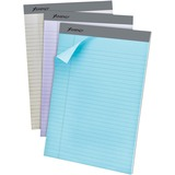 "Ampad Pastel Legal-ruled Perforated Pads - 50 Sheets - Printed - 15 lb Basis Weight - Letter 8.50"" x TOP20602R"