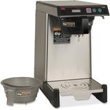 BUNN WAVE Combo Coffee/Tea Brewer - Programmable - 1350 W - 2.01 quart - Stainless Steel, Black, Sil BUN399000020