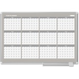 "MasterVision 48"" 12-month Calendar Planning Board"