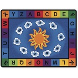 CPT9412 - Carpets for Kids Sunny Day Learn/Play Rectangl...