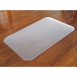 "Desktex Antimicrobial Desk Mat - 22"" Width x 17"" Depth - Polyvinyl Chloride (PVC) - Clear FLRFPHMTM4356EV"