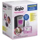 Gojo LTX-7 Plum Foam Dispenser Starter Kit - Automatic - 23.7 fl oz (700 mL) - Chrome Black GOJ1312D1