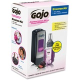 Gojo ADX-7 Dispenser Plum Foam Handwash Starter Kit - Manual - 23.7 fl oz (700 mL) - Chrome Black GOJ8712D1